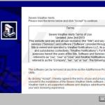 severe weather alerts adware installer sample 3