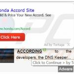 Deceptive Tortuga Internet browser generating intrusive ads (sample 1)
