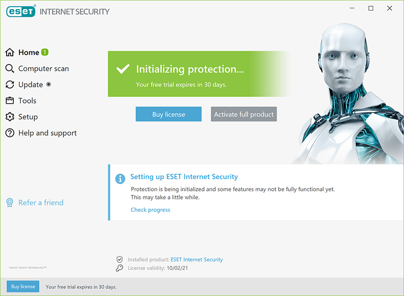 ESET Internet Security 2021 Edition - Home