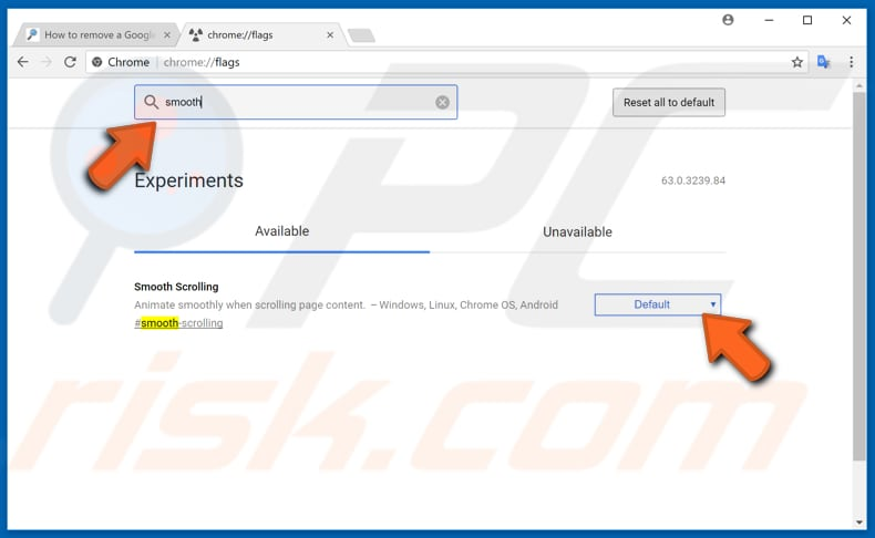 make your google chrome faster with experimental features step 3