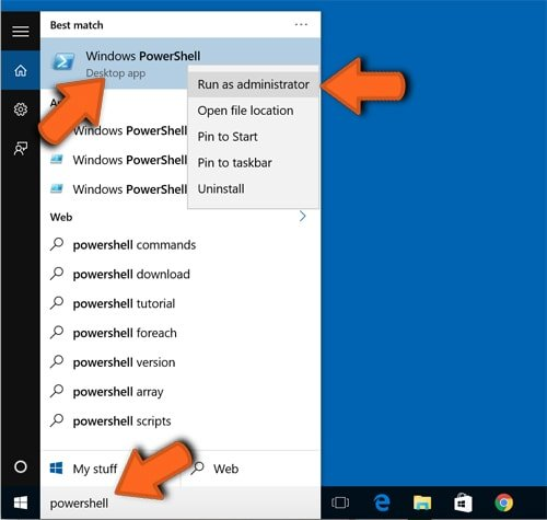 Microsoft Edge browser settings reset advanced method step 3
