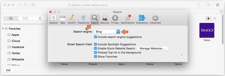 Come rimuovere browser hijacker da Safari 4