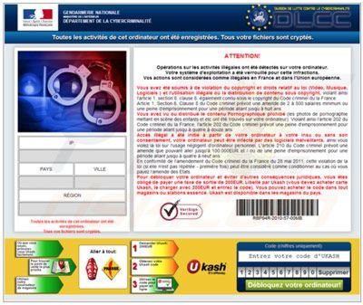 France browser blocked