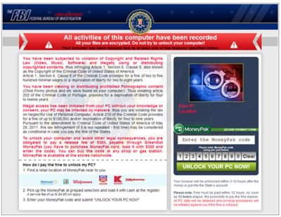 USA browser blocked