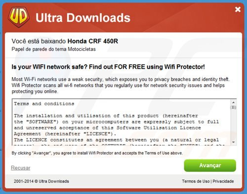 wifi protector adware installer
