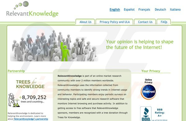 premieropinion è una variante di relevantknowledge