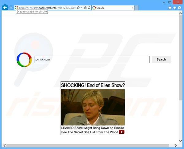 Come sbarazzarsi di dirottatore Browser info