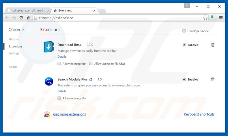 Rimuovere MyBrowser adware da Google Chrome step 2