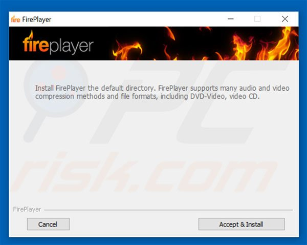 FirePlayer adware installer