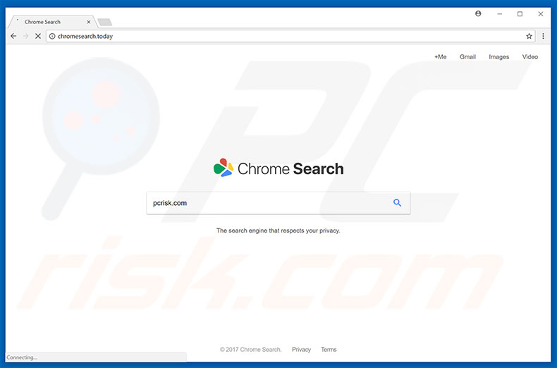 chromesearch.today browser hijacker