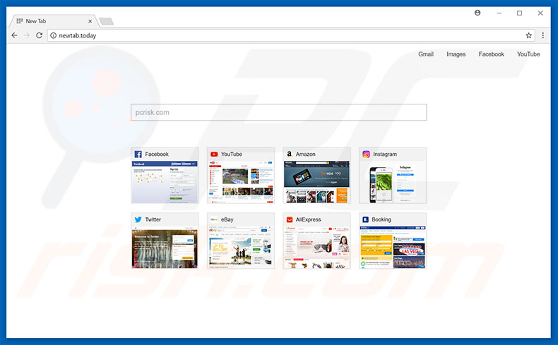 newtab.today browser hijacker