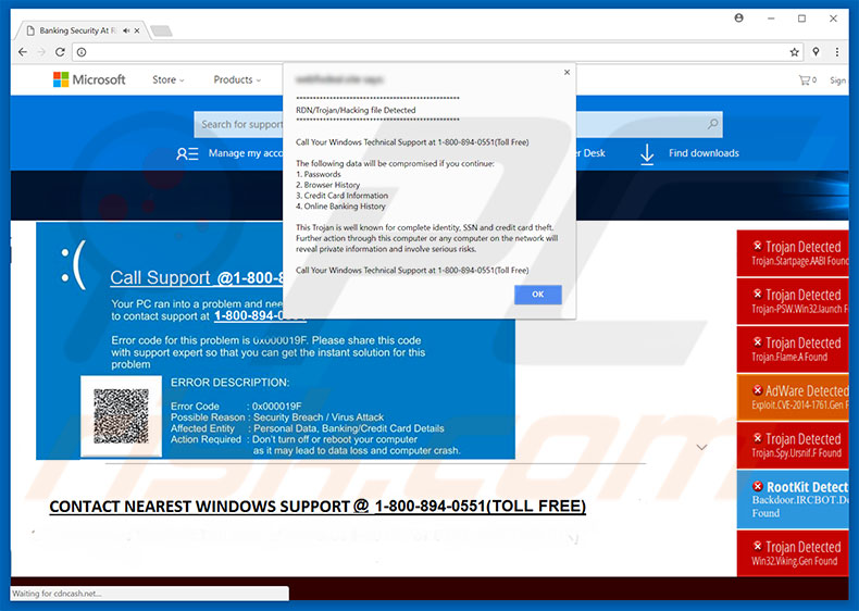 RDN_Trojan_Hacking File Detected adware