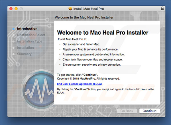 Mac Heal Pro official installer
