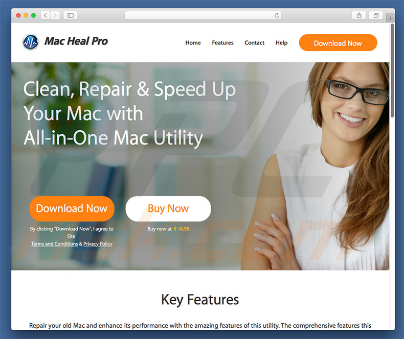 Mac Heal Pro official website