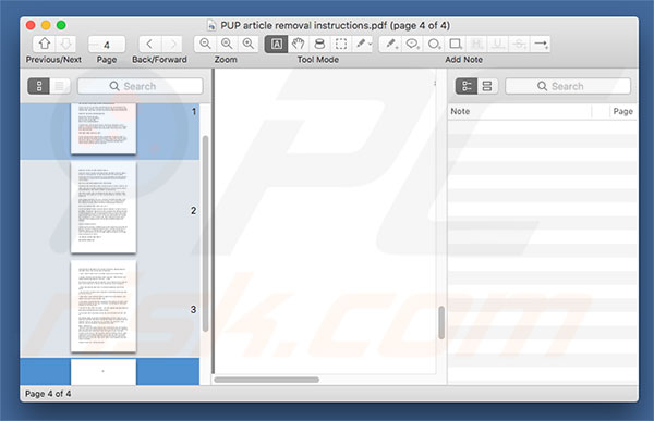 PDF Mac Master application