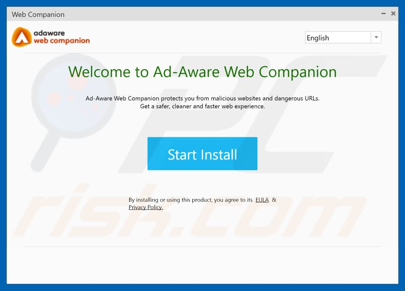 Web Companion installation setup