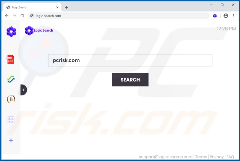 feed.logic-search.com browser hijacker