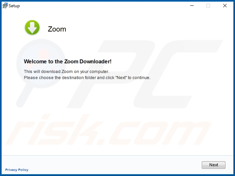 Fake Zoom app installer used to proliferate malware