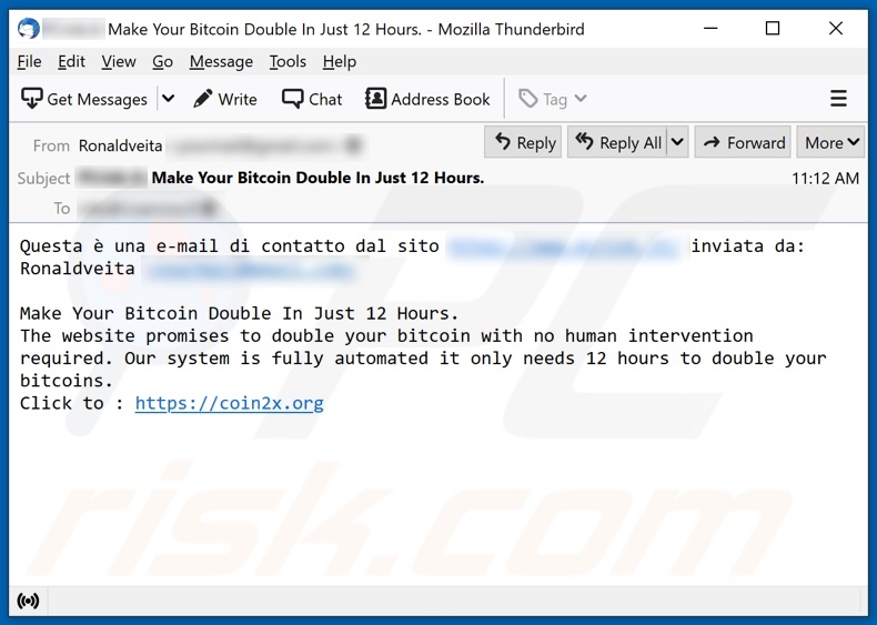 elenco email bitcoin