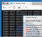Windows Malware Detected POP-UP Truffa